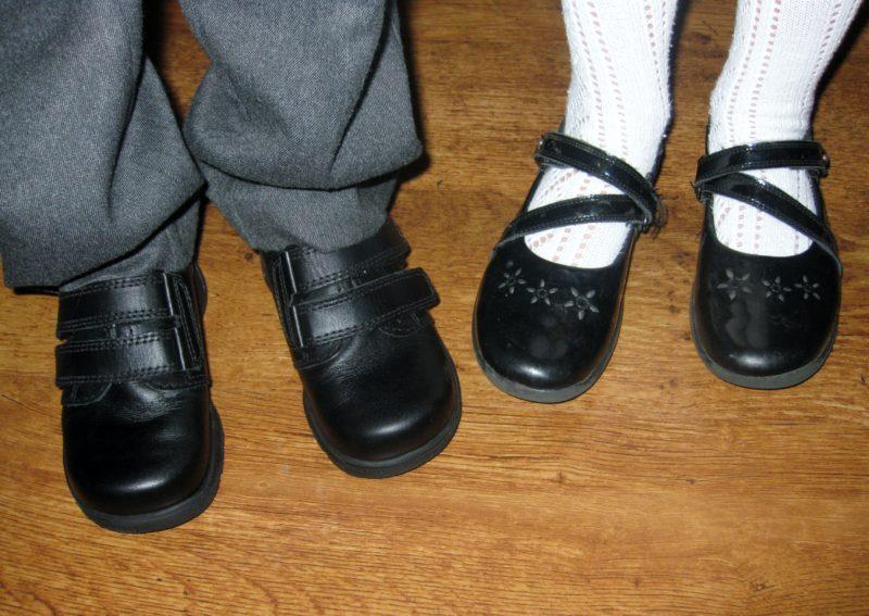 Teenage Black School Shoes