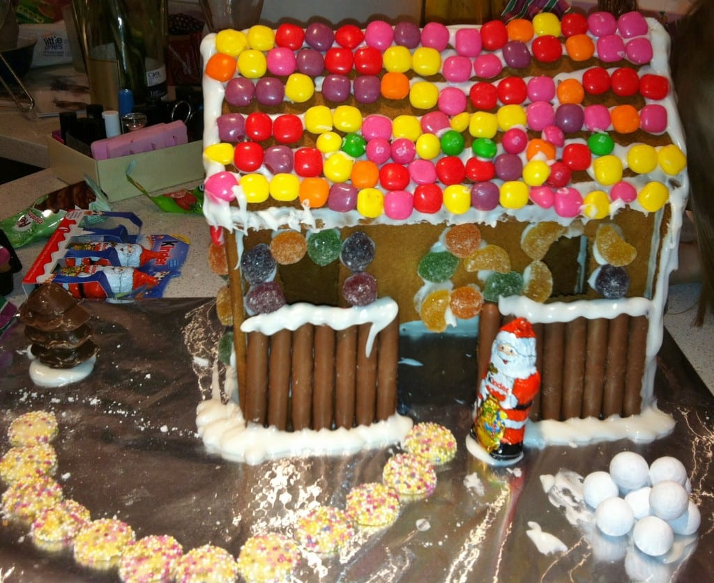 A Boxing Day Tradition: Gingerbread House (and Mini Cooper!)