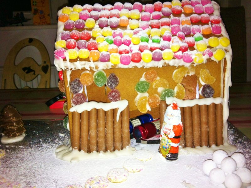 Gingerbread House for Santa""
