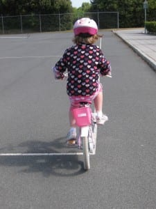 """Cycling without stabilisers"""