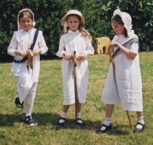 """Victorian School Girls"""
