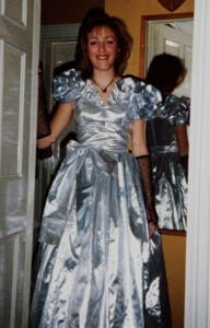 """Eighties ball gown"""