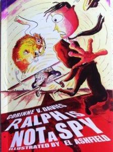 """""""Ralph is (not) a Spy children's book"""""""