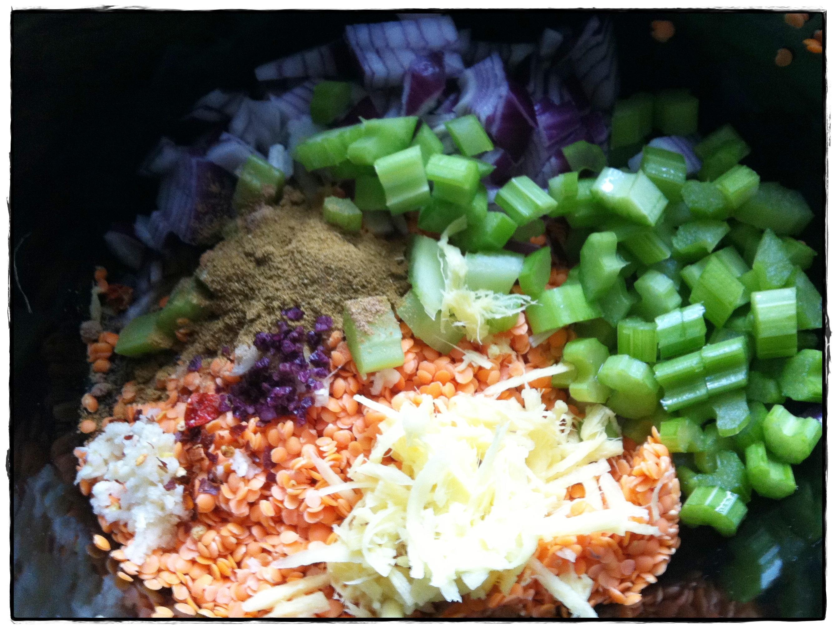 """Red Lentil Curry Recipe"""