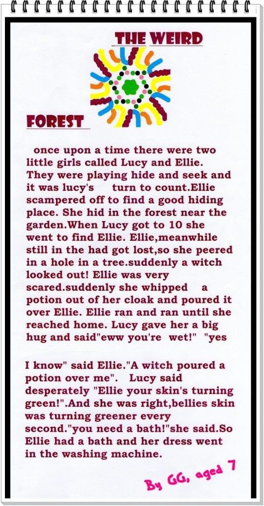 Wot So Funee? The Weird Forest (a short story)