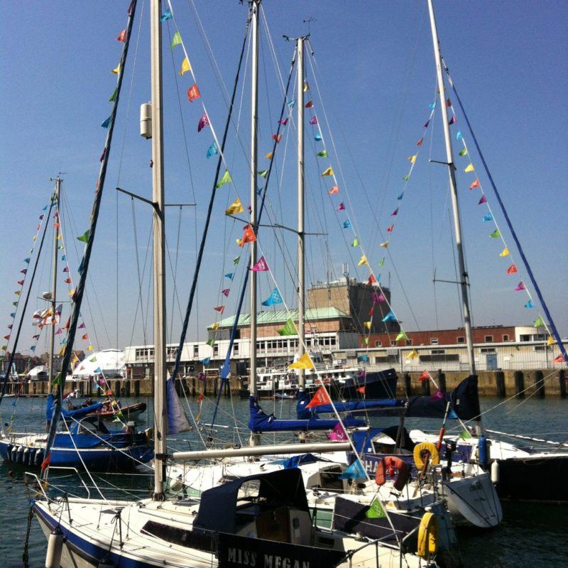 """""""olympic sailing at Weymouth"""""""