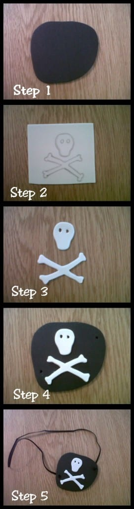 """How to make a pirate eyepatch"""