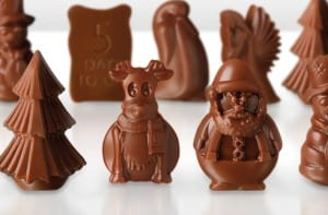 """chocolate santa and reindeer"""