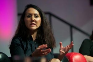 """Liz Jones at Mumsnet Blogfest"""