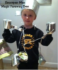 """Saucepan Man from the Magic Faraway Tree by Enid Blyton"""