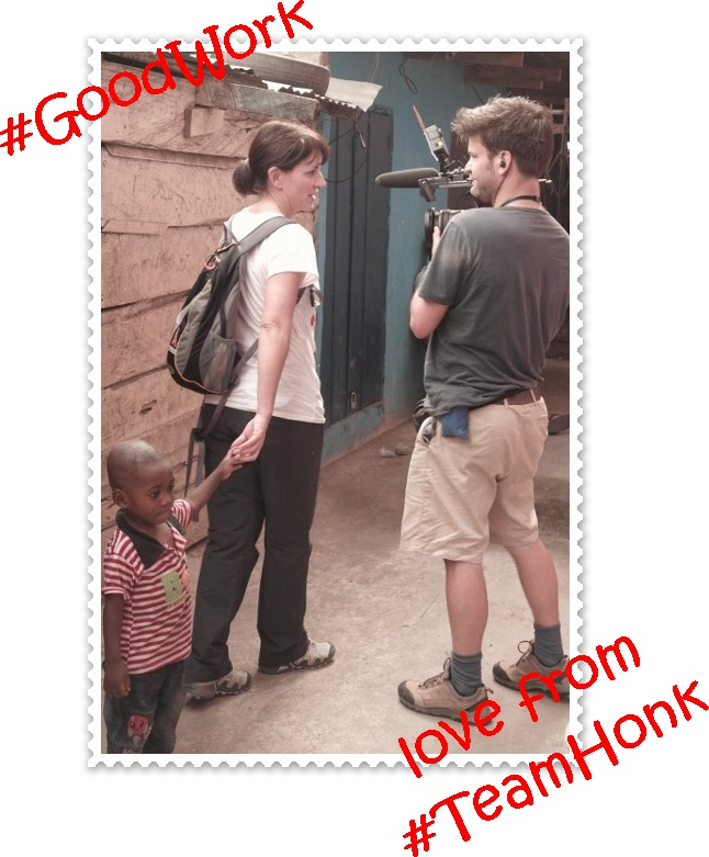 """Davina McCall in Ghana for Comic Relief"""