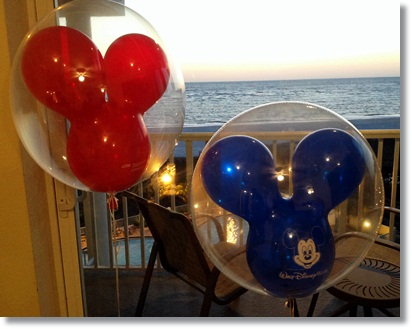 """mickey mouse balloons from Disney"""