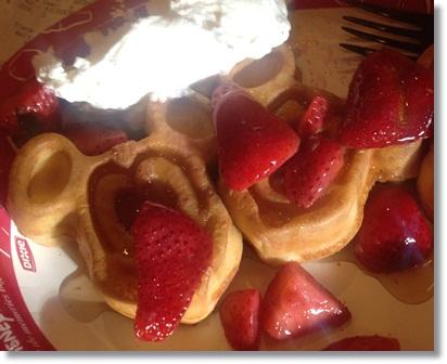 """""""Mickey waffles"""""""