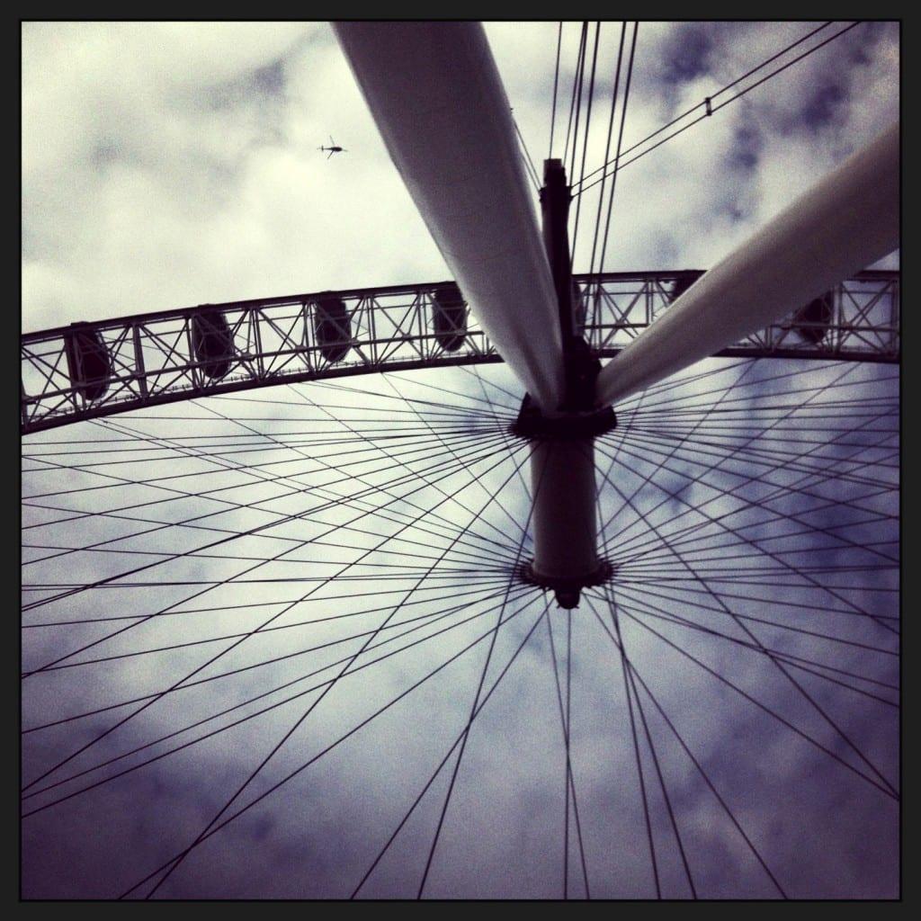 """London with kids: London Eye"""