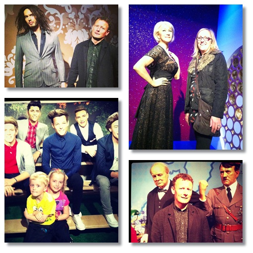 """London with kids - Madame Tussaud's"""