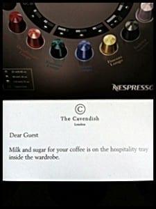 """Nespresso coffee pods"""
