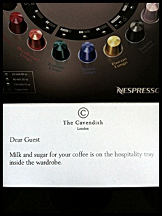"""Nespresso coffee pods"""
