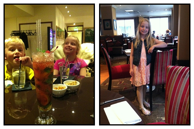 """London with kids - Petrichor restaurant at the Cavendish London"""