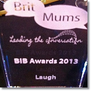"""Britmums brilliance in blogging awards"""