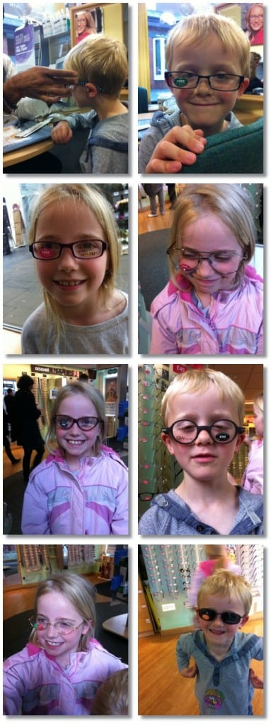 """Do I need glasses Mummy?"""