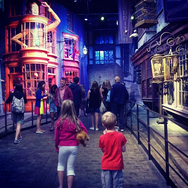 """Diagon Alley Harry Potter Studio Tour London"""