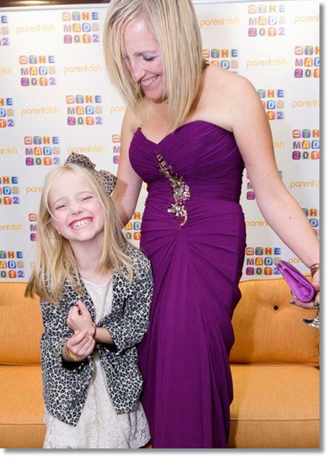Actually Mummy at the Mad Blog Awards 2012 in Wish Want Wear - GG in River Island