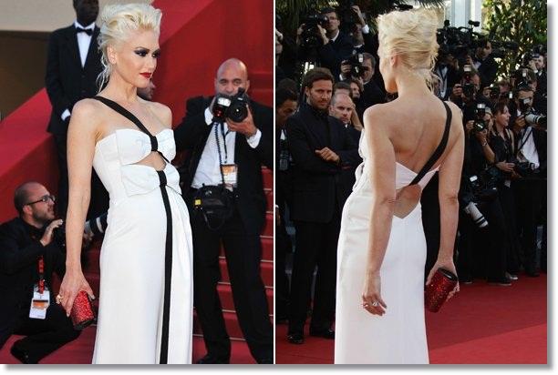 Gwen Stefani takes the red carpet pose too far
