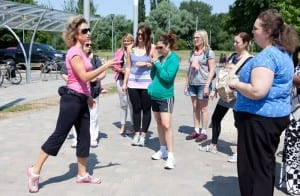 Fitbug and WalkActive with Joanna Hall