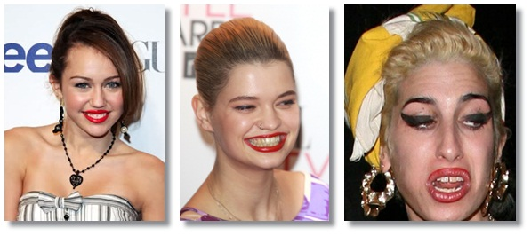 How to look good in photos - steer clear of red lipstick