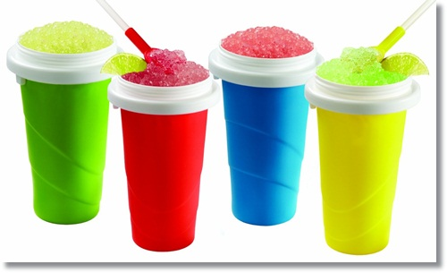 Make healthy slush for the kids