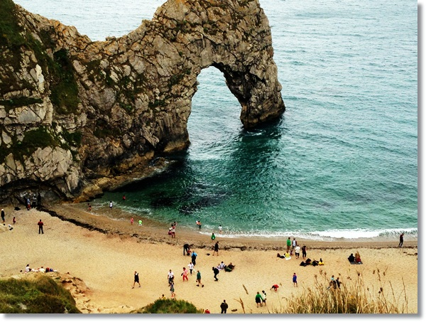 Geocaching Durdle Door