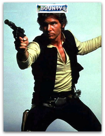 Han Solo has a Bounty on his head