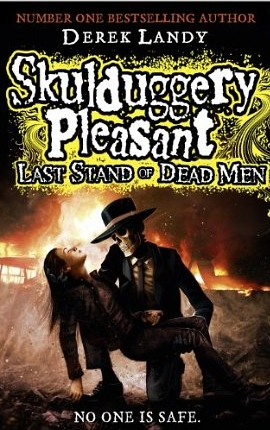 What is the best age to read the Skulduggery Pleasant series of children's books?
