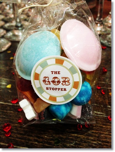 Sweets for Weddings - retro sweets
