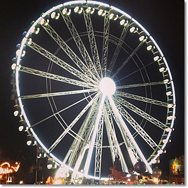 Winter Wonderland - giant observation wheel