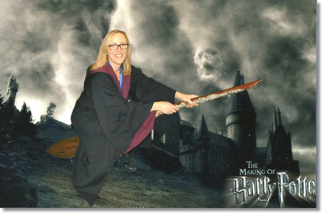 Hogwarts at Christmas: my Mum is a witch