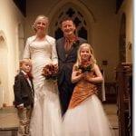 Wedding photos – our beautiful family