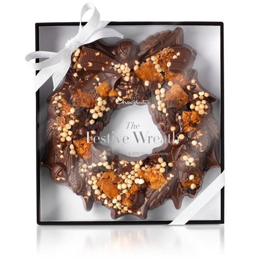 Hotel Chcolat Christmas Wreath