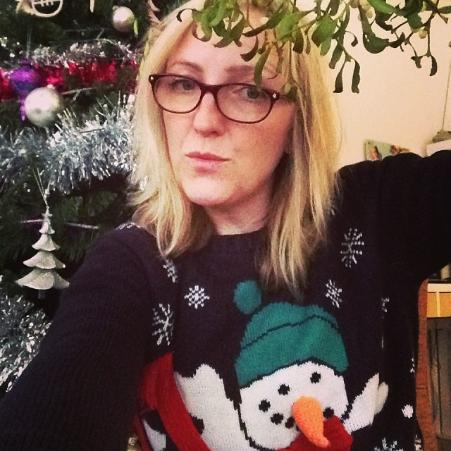 Will you take a selfie for #xmasjumperday?