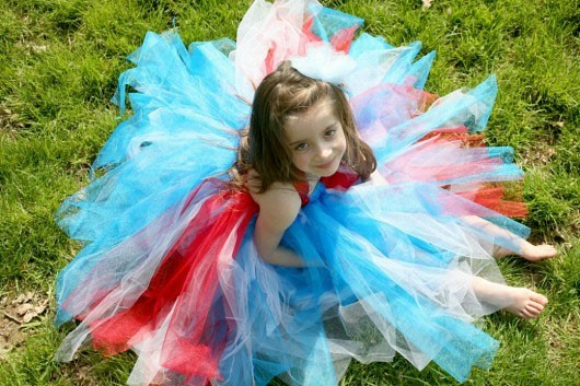 Gorgeous girls tutu party dresses hand stitched in the UK