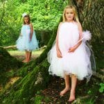 Giveaway: Gorgeous bespoke girls tutu party dress from Dainty Dizzy