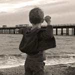 Young and free: Felixstowe beach 365 #08