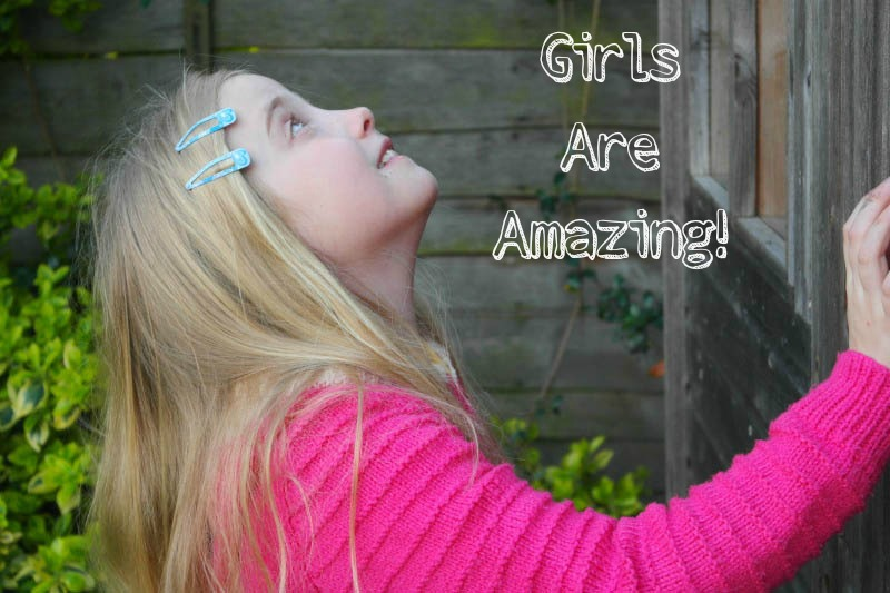 A new campaign by Girl Talk magazine says #GirlsAreAmazing!