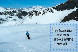 If you've never been skiing with the family, here's why you need to be brave and give it a go!