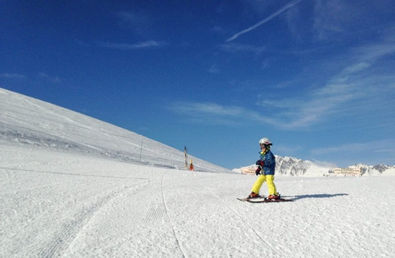 Family skiing is easier than you'd think