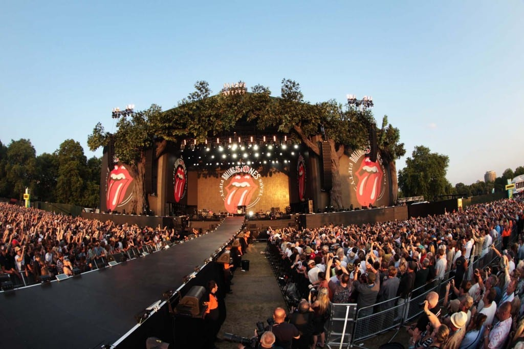THE ROLLING STONES HYDE PARK DAY 2