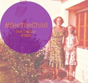 See the child and text I SEE to 63000 to save children from abuse
