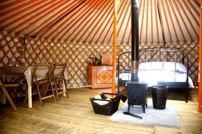 Somerset yurts