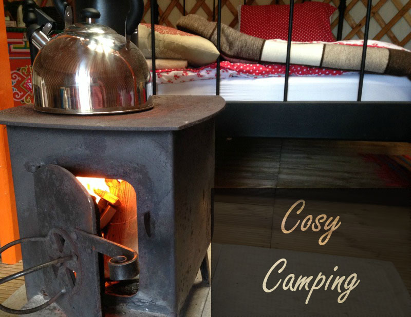 The day they stayed off school: Somerset Yurts review