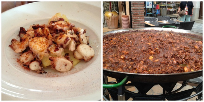 Food in the Costa Brava